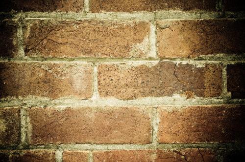 grunge dark old brick wall background texture
