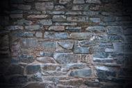 dark stone brick wall background free texture
