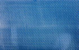 blue plastic woven mesh background texture