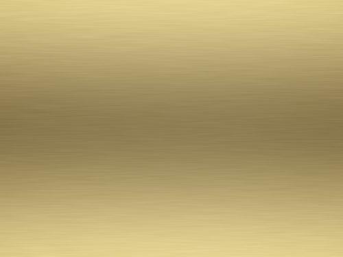 rendered lightly brushed shiny gold