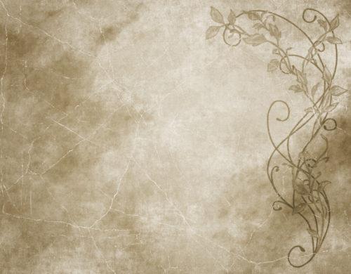 old paper floral parchment background texture