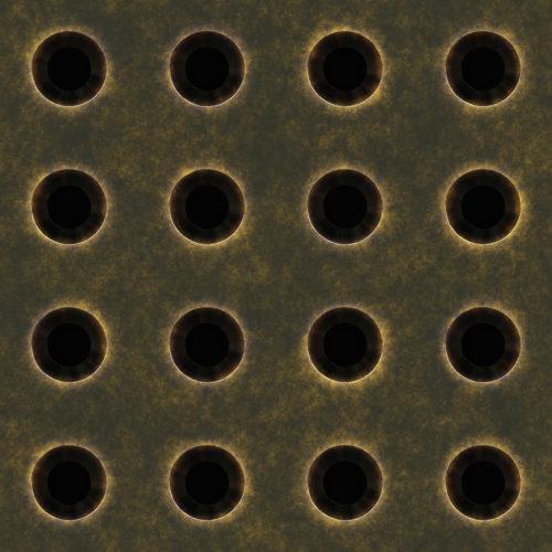 Seamless closeup of old mesh screen metal background texture