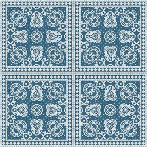 blue kitchen seamless tile background texture