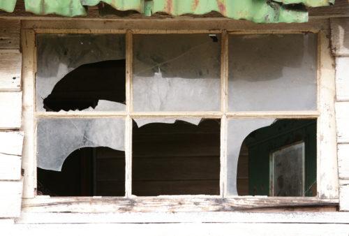 smashed broken windows background texture
