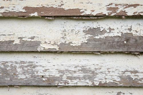 peeling paint on the wood wall texture