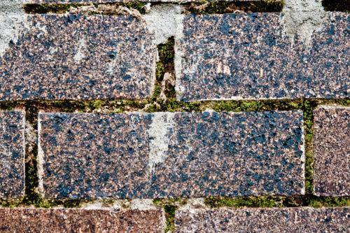 just a brick wall really close up