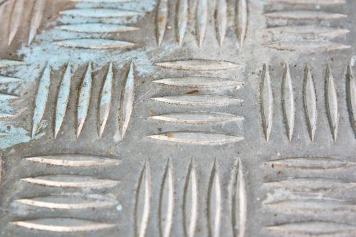 old diamond plate metal texture