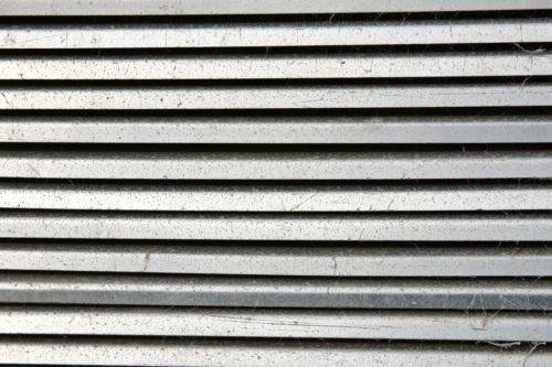 old aluminum metal vent background texture