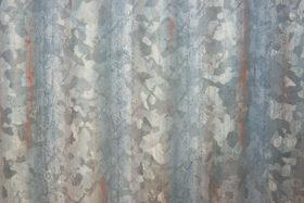 old corrugated iron metal free background