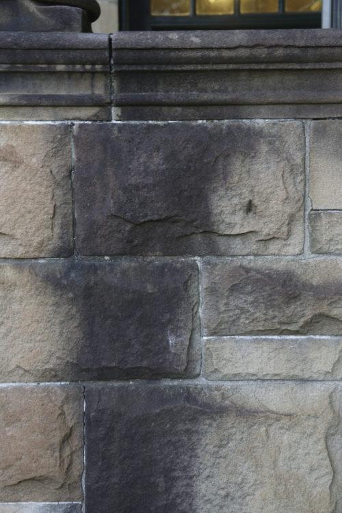 grungy stone brick wall background texture