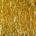 gold tinsel streamer hair texture