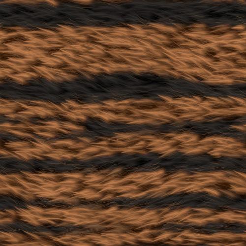 brown striped fur texture