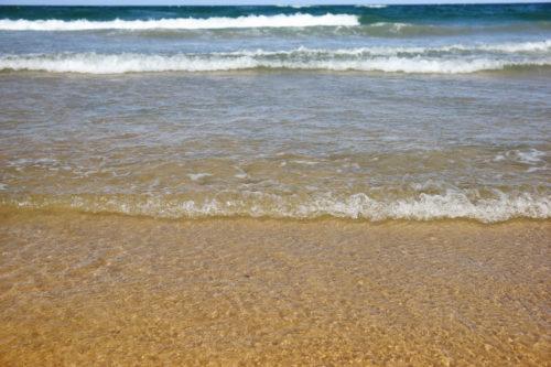 gentle beach waves texture background