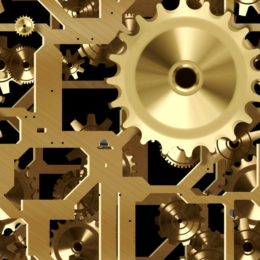 More Gold or Brass Clockwork