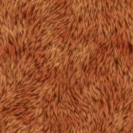 A cool seamless orange fur texture