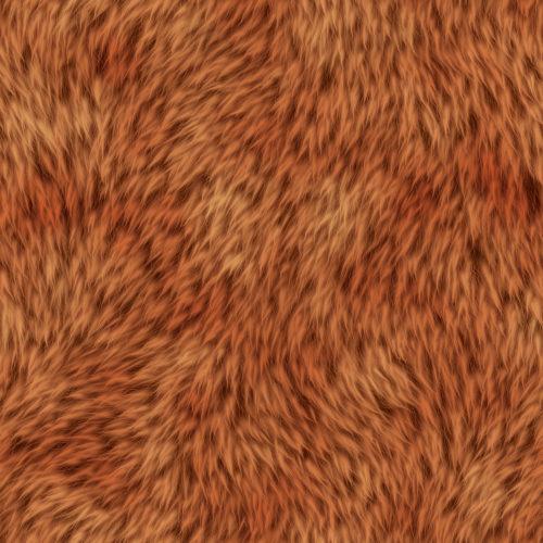 orange fur texture