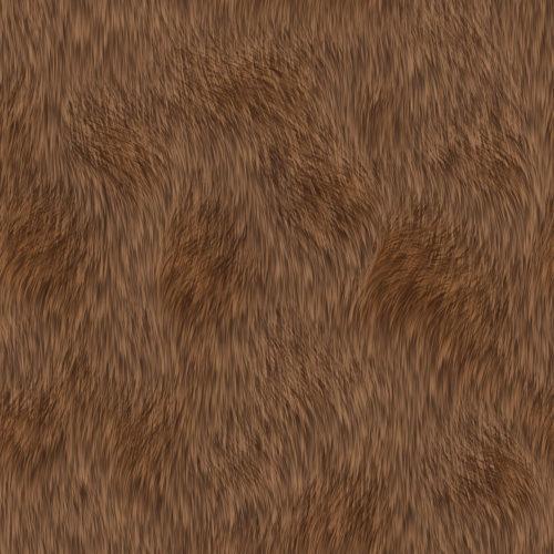 seamless brown fur texture