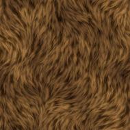 Soft Brown Fur Texture