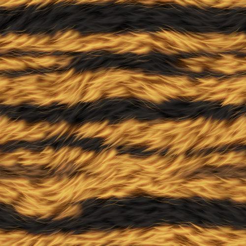 seamless tiger fur texture