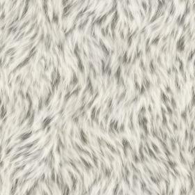A seamless soft white fur texture