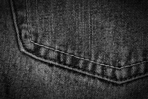 dark black background jeans texture
