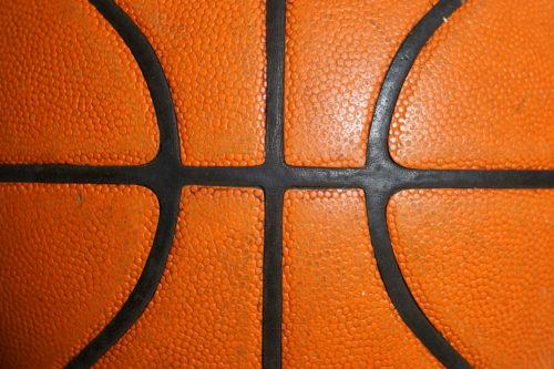 orange basketball background texture