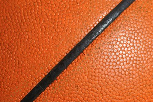 orange basketball texture
