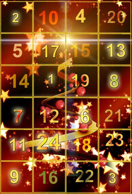 advent calendar background image