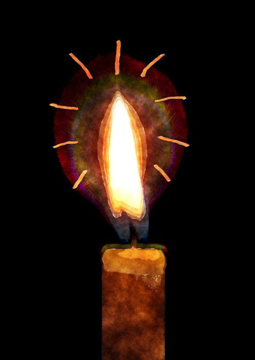 candle illustration
