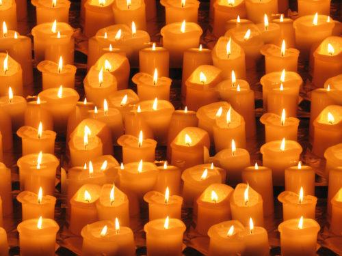 candles christmas background image