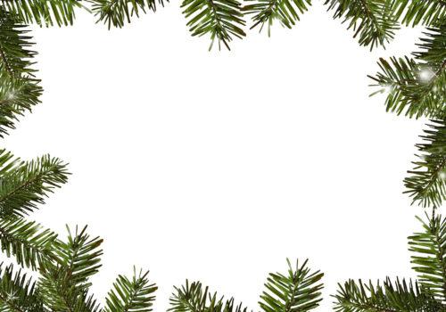 christmas frame card