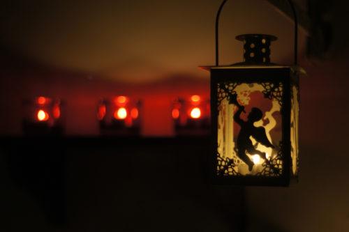 lantern at christmas wallpaper