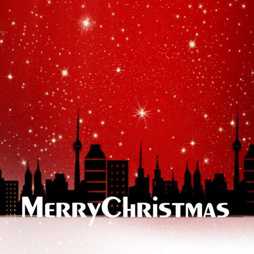 merry christmas city image
