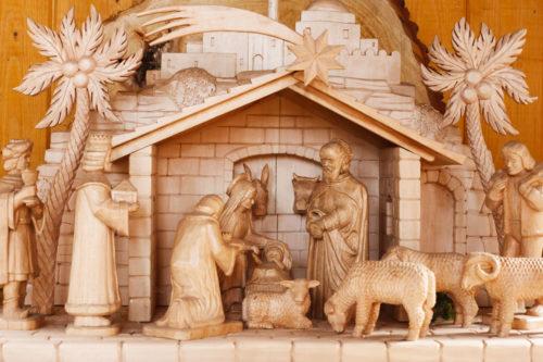 nice nativity scene image