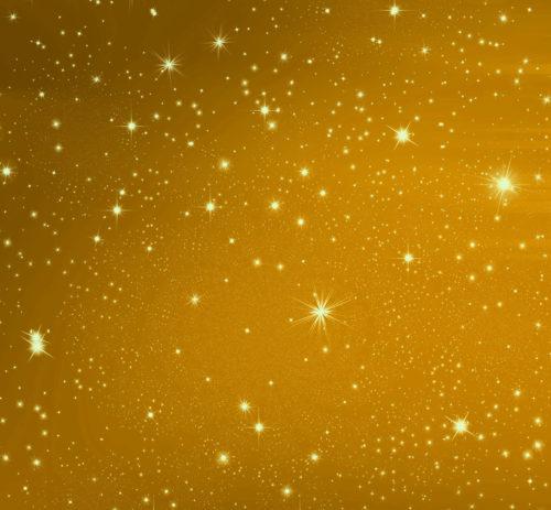 stars on gold