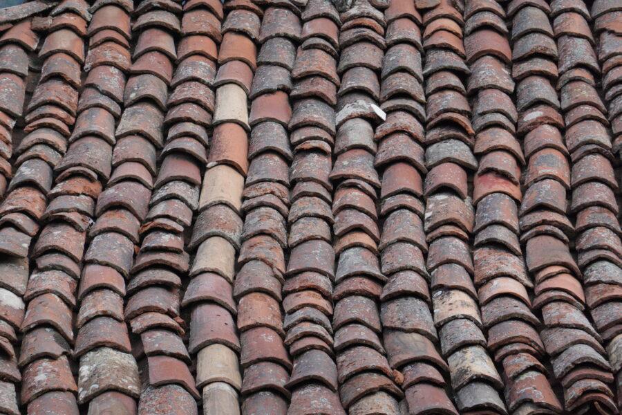 old roof tile background image landscape 1