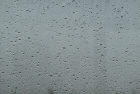 Raindrops On Glass Window Background Texture